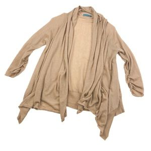 Alice + Olivia Cashmere Open Front Cardigan Z354